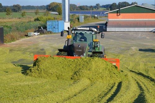 Foto van een Fendt 930, bezig met maïs inkuilen. Geplaatst door Fendt-LSA op 07-01-2016 om 17:20:57, met 2 reacties.