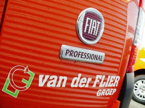 Foto van een FIAT Fiorino, opgebouwd met gesloten opbouw.. Geplaatst door Alex Miedema op 03-02-2016 om 10:34:43, op TractorFan.nl - de nummer 1 tractor foto website.