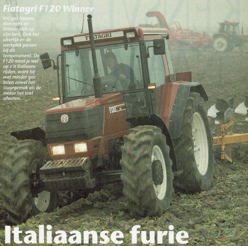 Fiat F120 van mklok