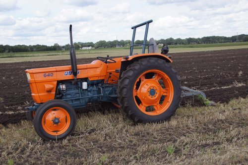Foto van een Fiat 640 DT. Geplaatst door jans-eising op 13-09-2018 om 21:27:54, op TractorFan.nl - de nummer 1 tractor foto website.