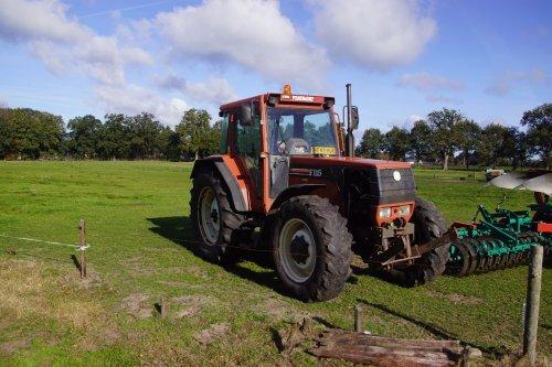 Foto van een Fiat F115. Geplaatst door jans-eising op 30-10-2018 om 18:27:09, op TractorFan.nl - de nummer 1 tractor foto website.