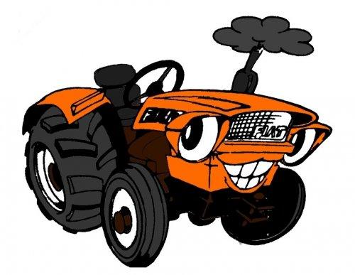 Fiat Humor van Fiatagri T7050