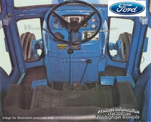 Ford 3600 van FORD@4610