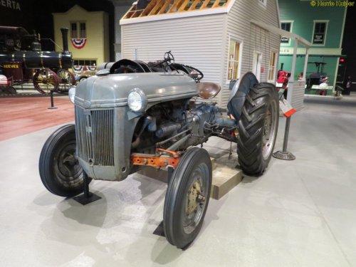 Ford 2N van oldtimergek