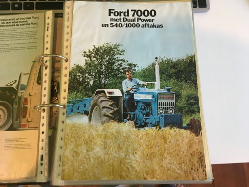 Ford 7000, foto van Gavrie Willemsen