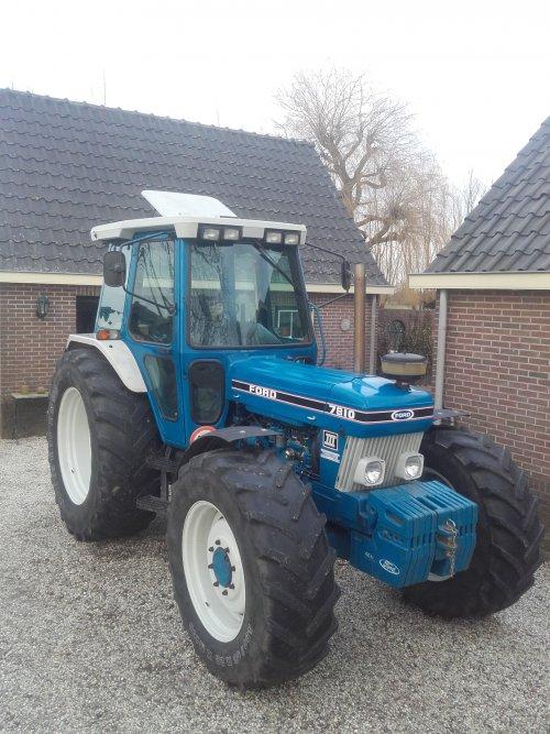 Ford 7810 van Davy de Wit