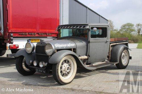 Foto van een Ford eigenbouw, opgebouwd als open laadbak.. Geplaatst door Alex Miedema op 27-04-2018 om 18:26:56, op TractorFan.nl - de nummer 1 tractor foto website.