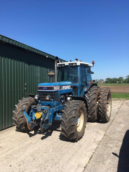 Foto van een Ford 8630. Geplaatst door martijnimmink op 05-05-2018 om 12:11:34, op TractorFan.nl - de nummer 1 tractor foto website.