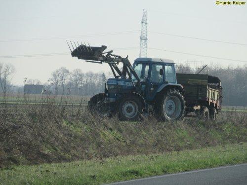 Foto van een Ford 6710,  23-02-2019. Geplaatst door oldtimergek op 24-02-2019 om 10:54:11, op TractorFan.nl - de nummer 1 tractor foto website.