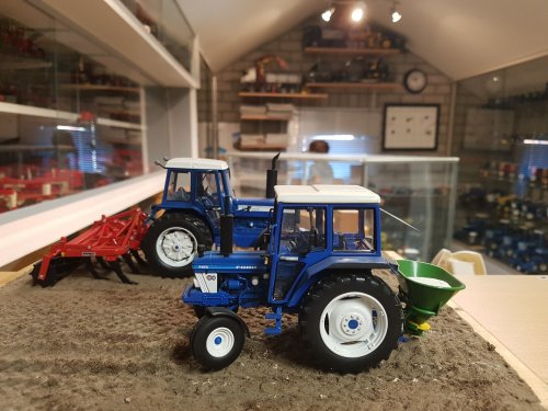 Ford miniatuur van Ford6000