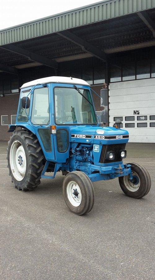 Ford 4610 van Sylke