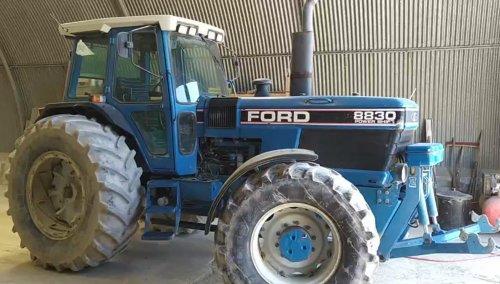 Foto van een Ford 8830 Moet nog wel gepoetst, komt in orde 👍👌. Geplaatst door patfordson op 21-05-2020 om 17:56:39, met 11 reacties.