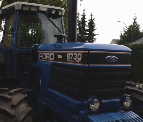 Ford 8730 van patfordson