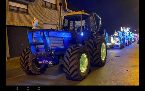 Foto van mijn tw 35 teidens kers rondrit Affligem 2020 vorige zaterdag. Geplaatst door Majorpower op 26-12-2020 om 09:07:35, op TractorFan.nl - de nummer 1 tractor foto website.