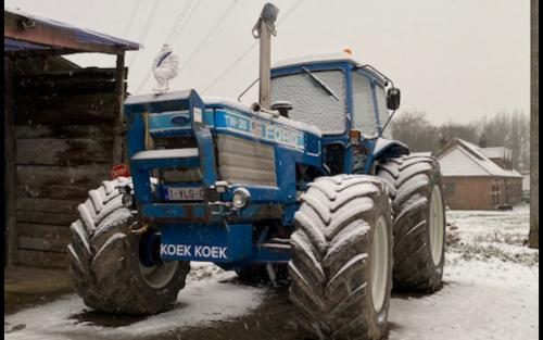 Koekoek heeft kou!. Geplaatst door Majorpower op 16-01-2021 om 19:43:40, op TractorFan.nl - de nummer 1 tractor foto website.