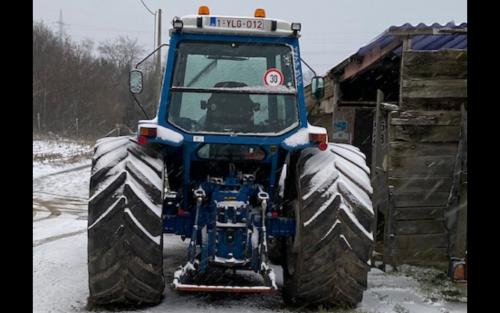 Koekoek heeft kou!. Geplaatst door Majorpower op 16-01-2021 om 19:43:42, op TractorFan.nl - de nummer 1 tractor foto website.