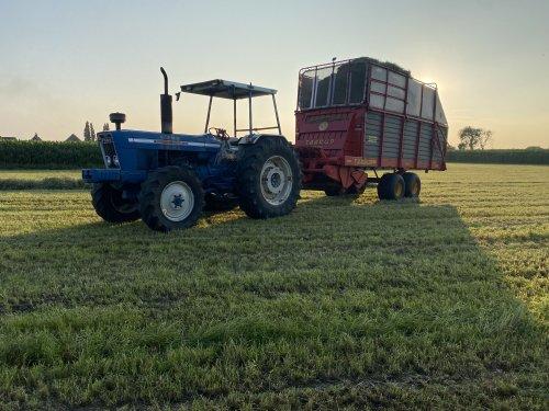Foto van een Ford 7095, dagje mee gras op wezen rapen. Geplaatst door fendt 512 op 22-07-2021 om 09:53:25, met 9 reacties.