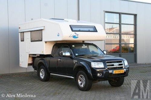 Ford Ranger van Alex Miedema