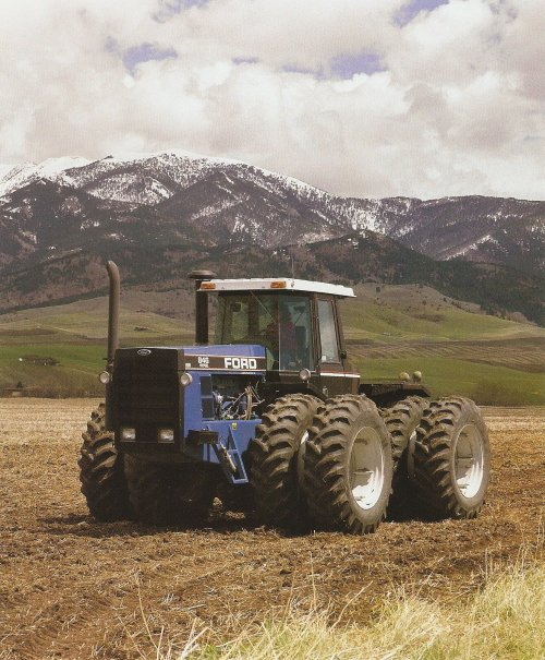 Ford 846 van Ford NewHolland