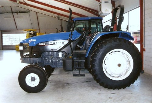 Ford 8360 SL van Ford NewHolland