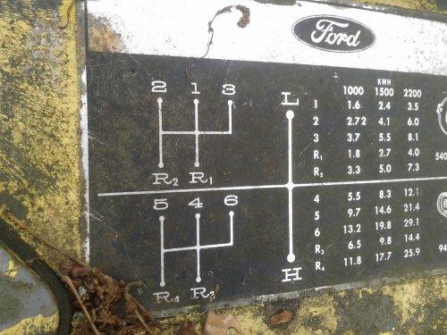 Ford 4400 Industrial van fordfanaat