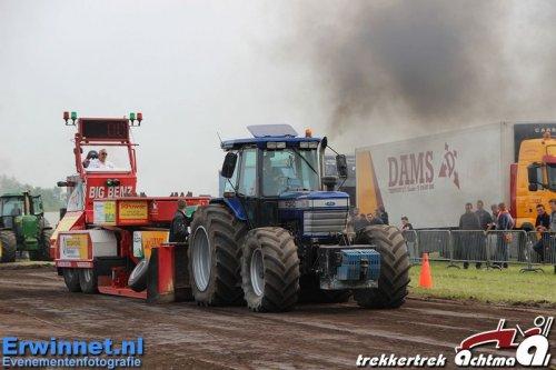 Foto van een Ford TW 15, bezig met trekkertrekken. 2e plaats 9 ton achtmaal. Geplaatst door BdeHond op 06-05-2014 om 09:45:10, op TractorFan.nl - de nummer 1 tractor foto website.