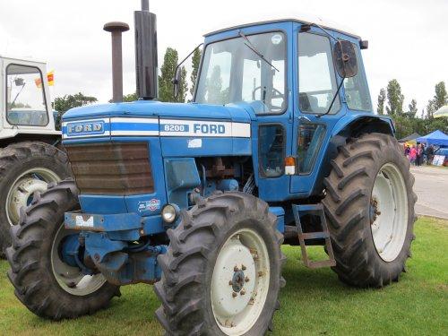 Ford 8200 van oldtimergek
