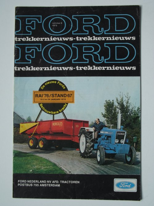 Ford Folder van Trekkerman Tom
