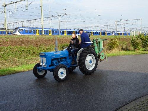 Foto van een Fordson Dexta Bokbierdag Zutphen 13 oktober 2019.. Geplaatst door dickt op 21-10-2019 om 11:30:42, op TractorFan.nl - de nummer 1 tractor foto website.