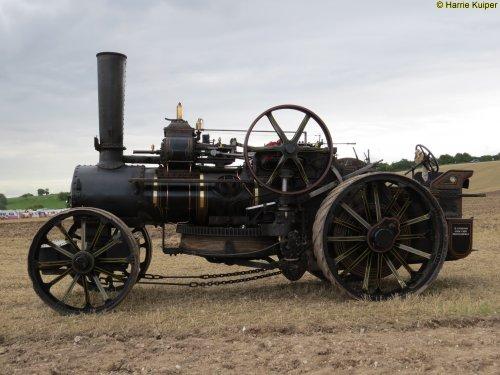fowler stoomtractor van oldtimergek