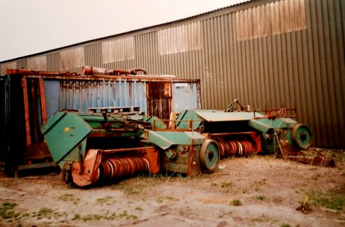 Foto van een Gallignani Pers of toch 2 halve, deze foto heb ik bijna 20 jaar geleden gemaakt, verder weinig uitleg bij nodig denk ik.