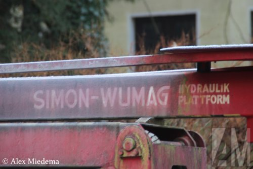 Simon-Wumag hoogwerker van Alex Miedema