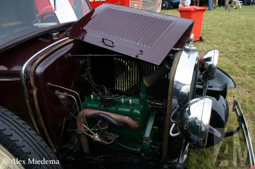 Ford motor van Alex Miedema