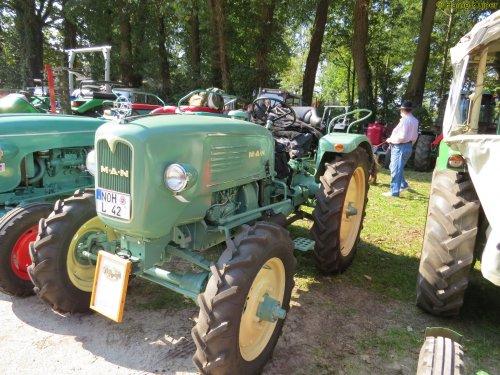Foto van een M.A.N 4L2   , Wilsum dld 24-09-2017. Geplaatst door oldtimergek op 18-10-2017 om 15:20:01, op TractorFan.nl - de nummer 1 tractor foto website.
