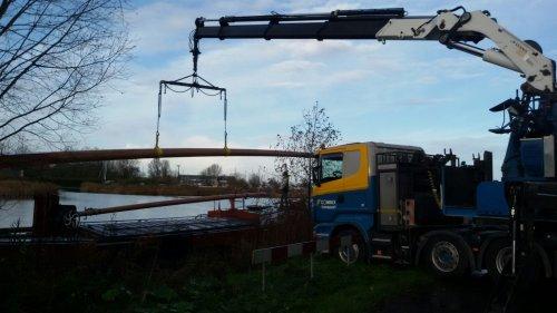 Scania R420 (vrachtwagen) van Combex