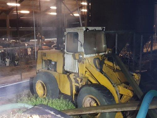 Foto van een International Payloader 510 (shovel) Het oude beestje.  Helaas nog steeds niet verkocht. Hopelijk komt dat toch nog