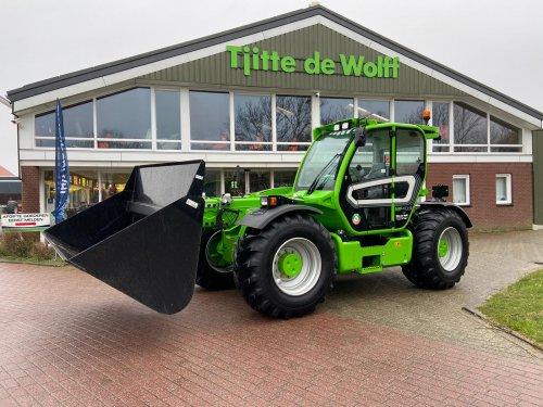 Tjitte de Wolff Landbouwmechanisatie uit Tjerkgaast leverde op maandag deze dikke Merlo Multifarmer af bij een klant in Wijckel. Met deze Merlo MF40.9CS is de Multifarmer weer vertegenwoordigd in Noord Nederland.