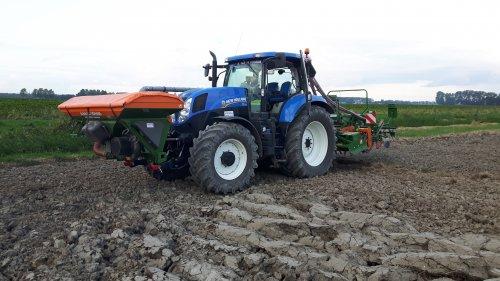 Foto van een New Holland T7.170. Geplaatst door deutz8006 op 07-10-2016 om 21:44:07, op TractorFan.nl - de nummer 1 tractor foto website.