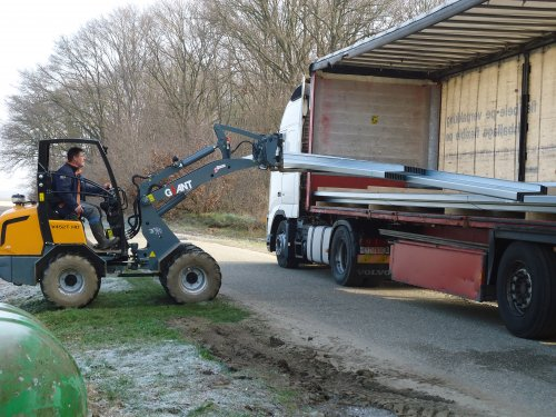 Foto van een Giant 452T, bezig met kilveren.. Geplaatst door giant-kevin-jd op 19-01-2014 om 20:44:00, op TractorFan.nl - de nummer 1 tractor foto website.