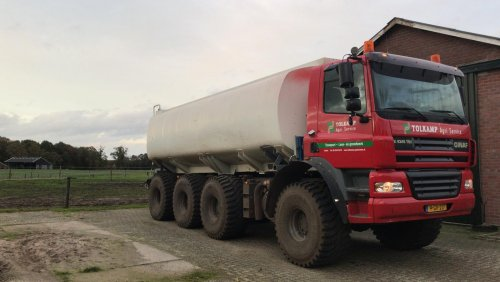 Hier zie je Tolkamp Agri Service (Aalten) × met een GINAF Mesttruck.. Geplaatst door tolkamp op 08-11-2019 om 21:19:13, met 3 reacties.