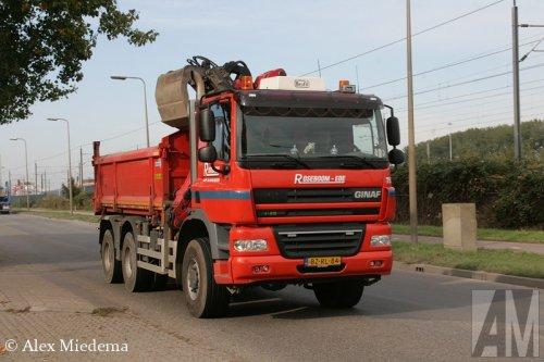 Foto van een Ginaf X3335-S, opgebouwd als dumper / kipper.. Geplaatst door Alex Miedema op 13-10-2015 om 13:41:16, op TractorFan.nl - de nummer 1 tractor foto website.