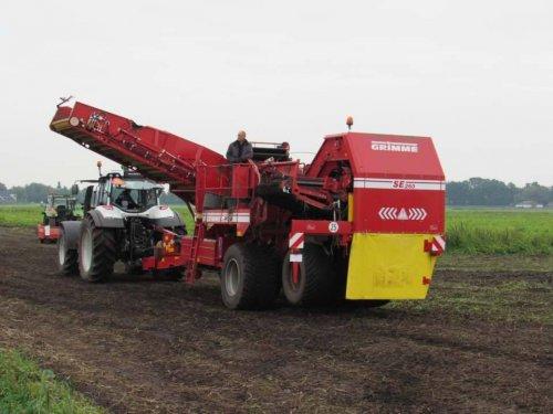 Foto van een Grimme SE 260. Geplaatst door jans-eising op 14-01-2018 om 11:35:02, op TractorFan.nl - de nummer 1 tractor foto website.