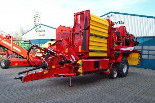 Foto van een Grimme Bunkerrooier Evo 280. Geplaatst door Lucas Ensing op 26-02-2020 om 20:39:15, op TractorFan.nl - de nummer 1 tractor foto website.