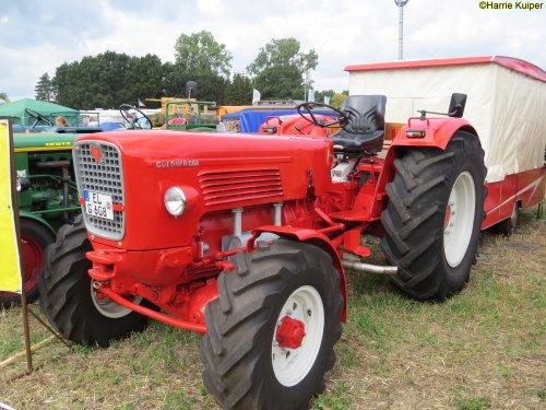 Foto van een Guldner G60A. Geplaatst door oldtimergek op 18-09-2018 om 11:13:03, op TractorFan.nl - de nummer 1 tractor foto website.