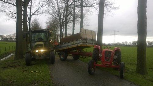 Foto van een Guldner G45S versnipperd !. Geplaatst door guldner75 op 01-03-2014 om 18:04:40, op TractorFan.nl - de nummer 1 tractor foto website.
