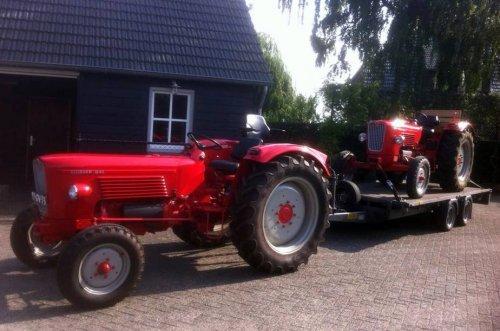Guldner G45S en een G30S. Geplaatst door Heiford op 01-05-2016 om 17:34:38, op TractorFan.nl - de nummer 1 tractor foto website.