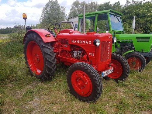 Foto van een Hanomag R35. Geplaatst door collin ihfan op 23-05-2017 om 23:39:23, op TractorFan.nl - de nummer 1 tractor foto website.