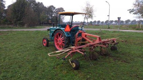 Foto van een Hanomag R27, schudden met de PZ fanex 540. Geplaatst door koen-hanomag op 16-03-2020 om 12:01:34, op TractorFan.nl - de nummer 1 tractor foto website.
