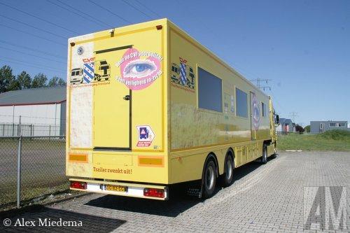 Foto van een Happy Trailer GTI-12-18T, opgebouwd als verkoop- / reclamewagen.. Geplaatst door Alex Miedema op 07-06-2015 om 11:26:59, op TractorFan.nl - de nummer 1 tractor foto website.