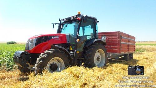 Barley Harvest With Hattat T 4100 2016...!!!. Geplaatst door alipasalierkan op 12-03-2018 om 20:03:45, op TractorFan.nl - de nummer 1 tractor foto website.